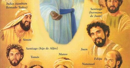 Quiénes eran los 12 apóstoles que siguieron a Jesús? ~ PUEBLO ...