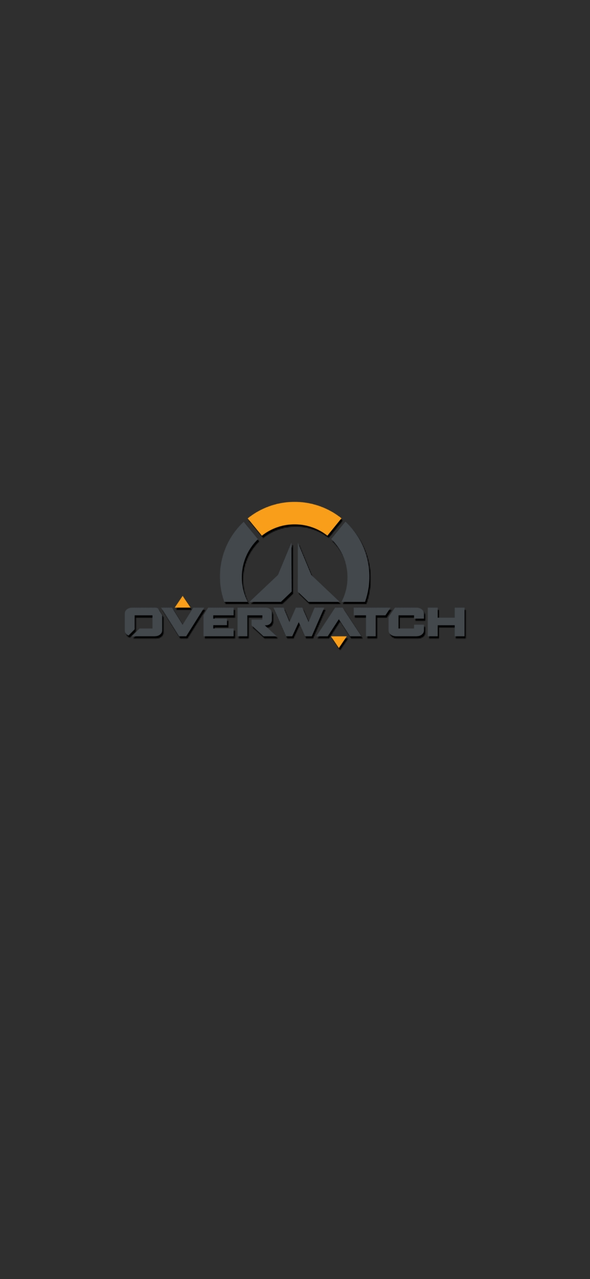overwatch logo mobile wallpaper