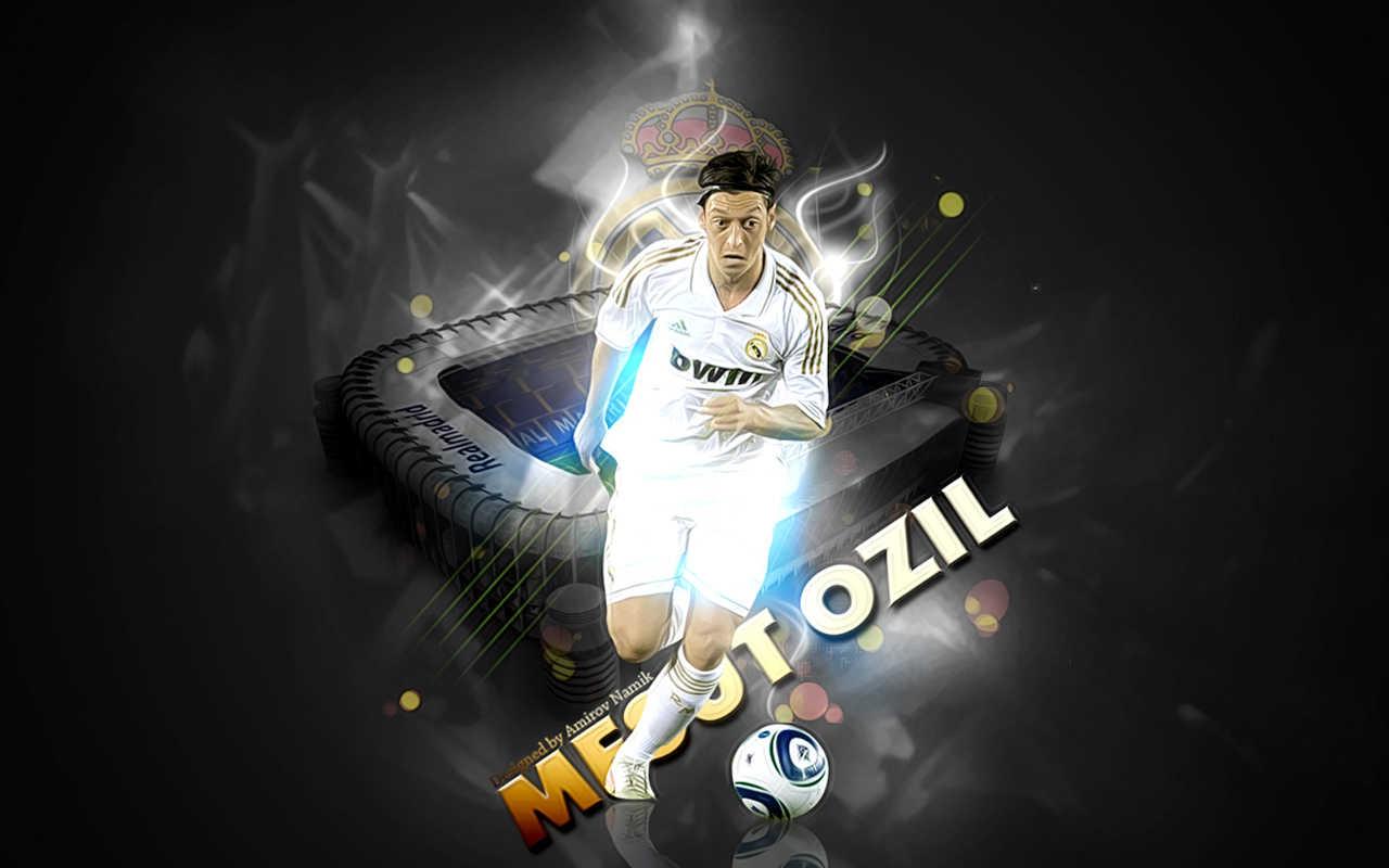 Mezut Ozil Real Madrid 2011 - 2012