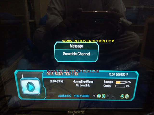 ECOLINK EL-7000 HD RECEIVER POWERVU KEY OPTION