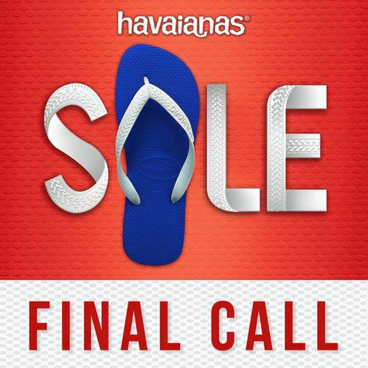 Havaianas Final Call Sale January 2015