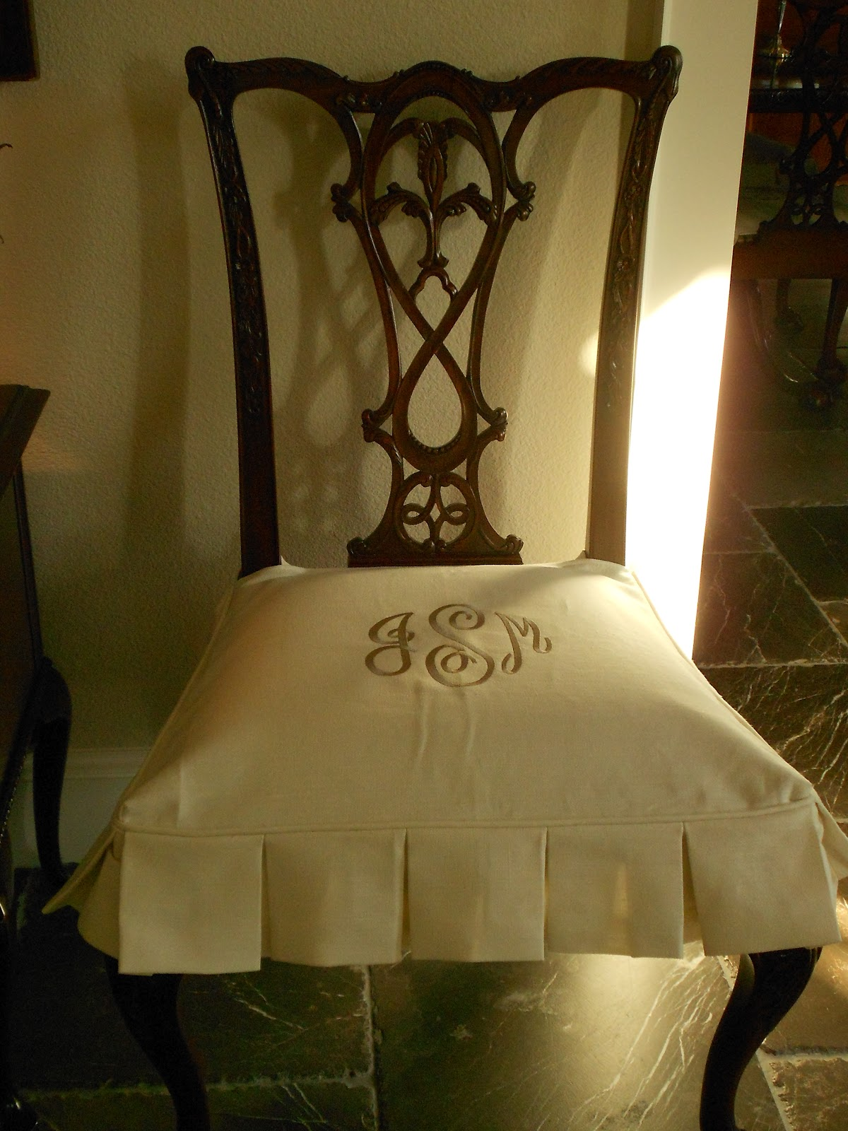custom dining chair slipcovers wheelchair accessible van my faux french chateau monogrammed room