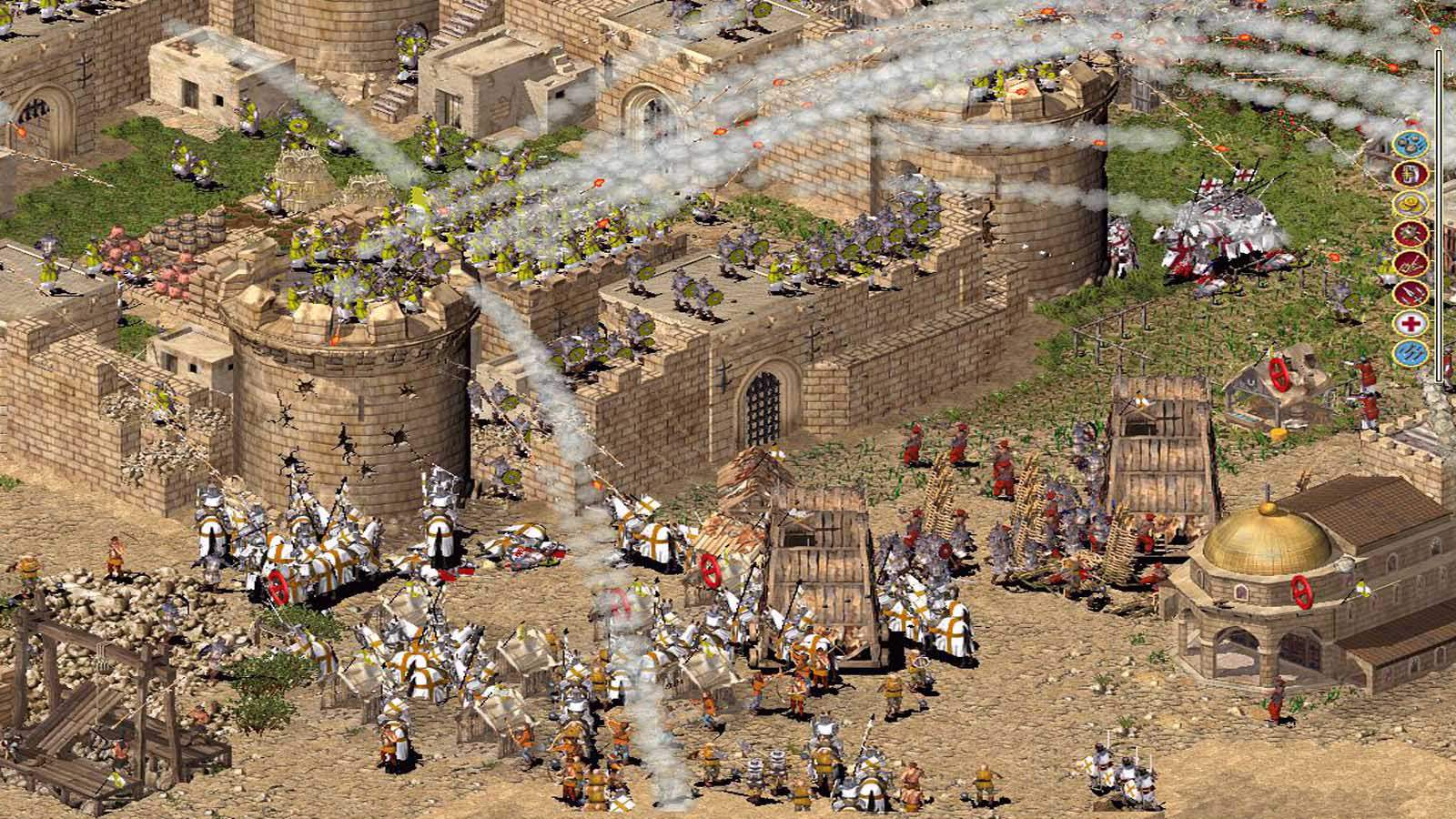تحميل لعبة Stronghold 1 مضغوطة برابط واحد مباشر كاملة مجانا