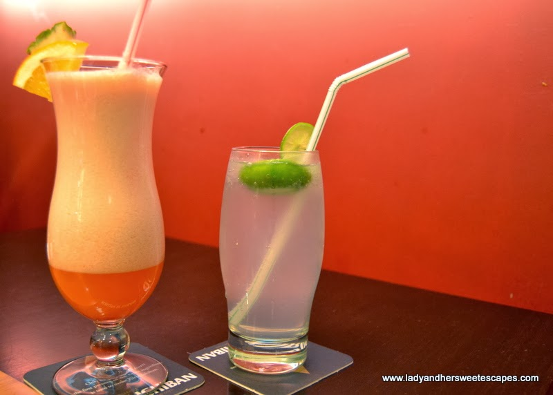 Sizzling Wok's refreshing drinks
