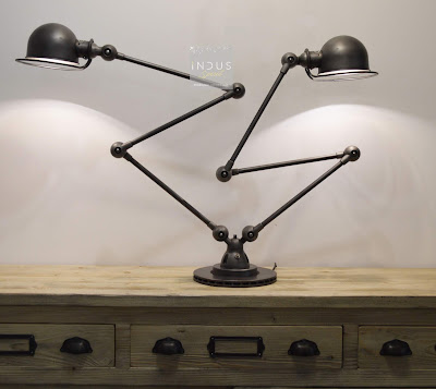 Lampe Jieldé double