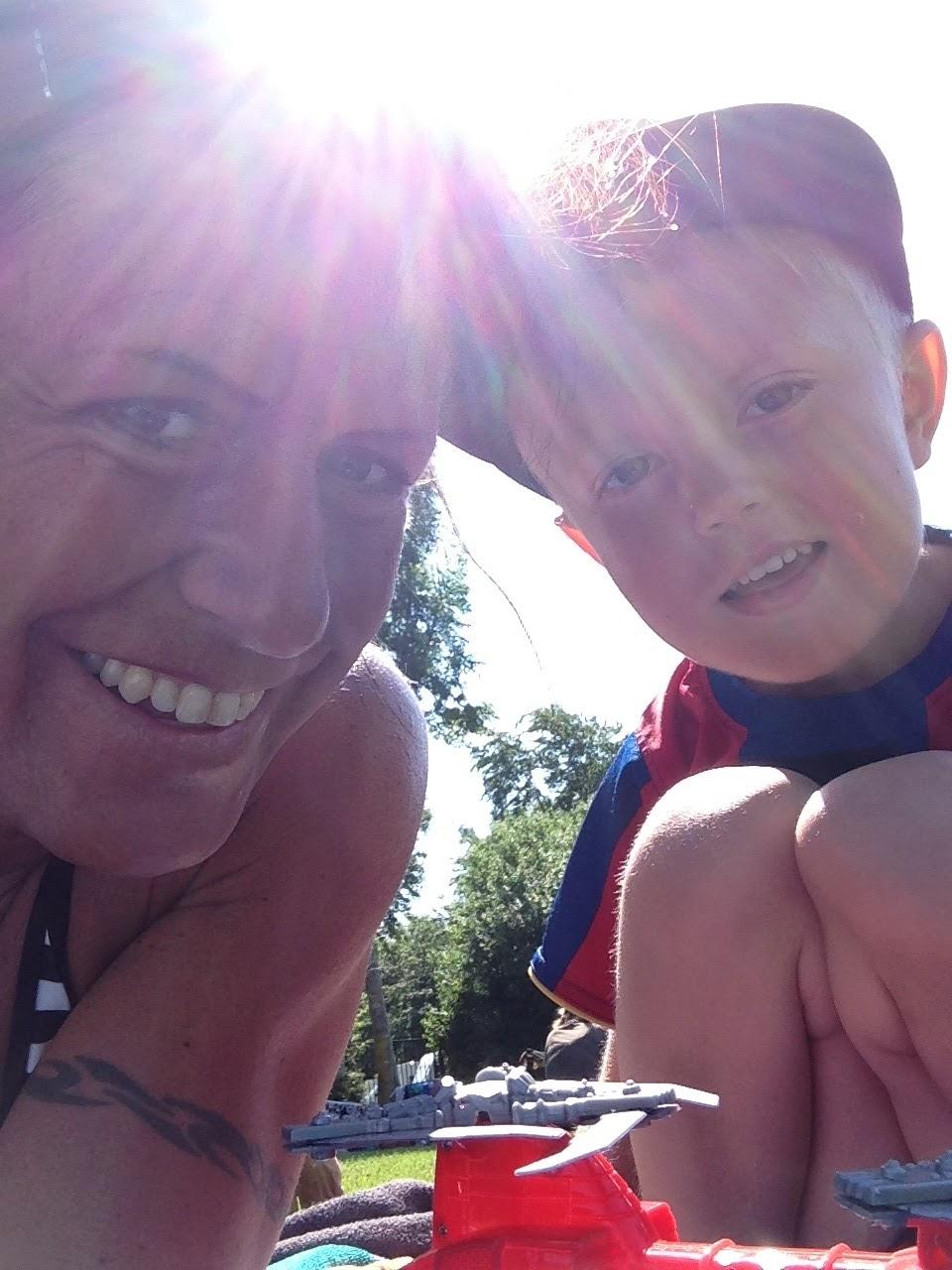 De bästa dagarna på hela semestern var ändå när Milton fyllde fyra år i  juli och vi åkte till Göteborg och firade hans födelsedag där. c1e6b2b7b7fab