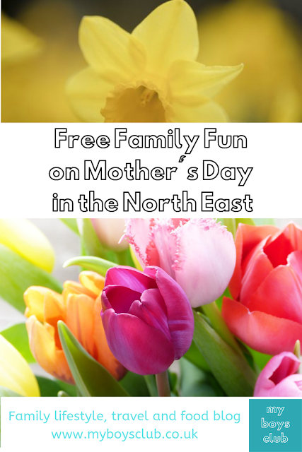 Free Family Fun on Mother's Day in the North East
