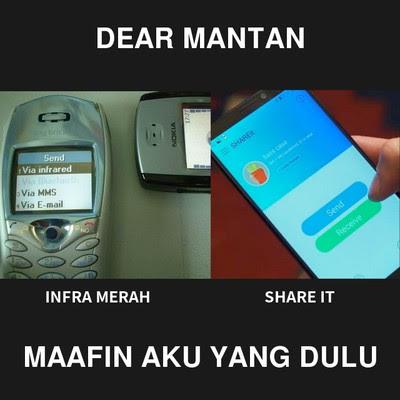 Meme Dear Mantan, Maafin aku yang dulu ya