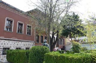 Jardín de la Casa Balabanov.