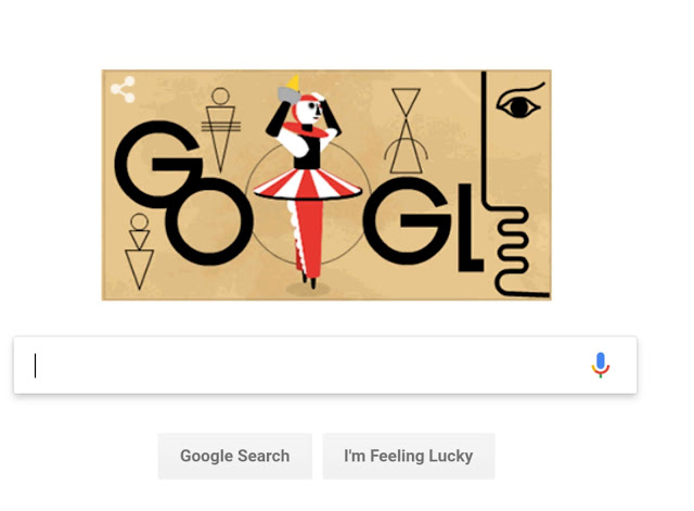 Google doodle honours German artist Oscar Schlemmer honors on his 130th birthday