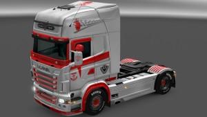 Scania RJL Skin Pack by LazyMods