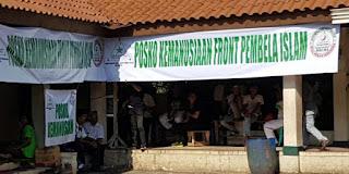 FPI Berulah lagi dengan mendirikan Posko Kemanusiaan bagi Korban Penggusuran Pasar Ikan
