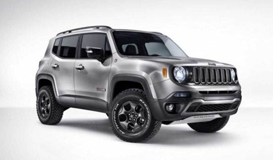 2017 Jeep Renegade North Redesign