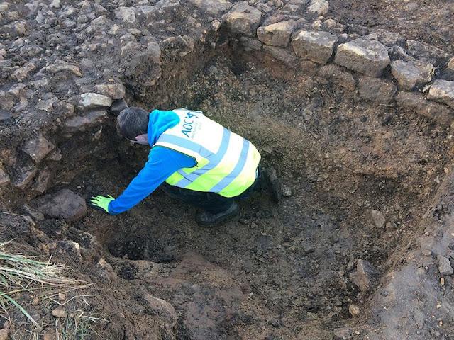 Roadworks provide glimpse into Roman and Iron Age past
