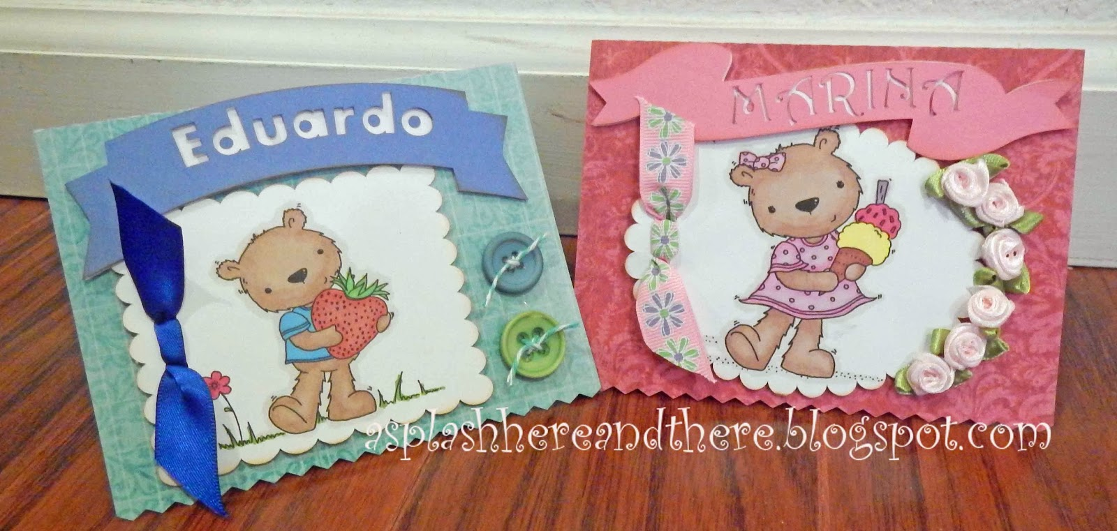 His And Hers Twin Birthday Cards
