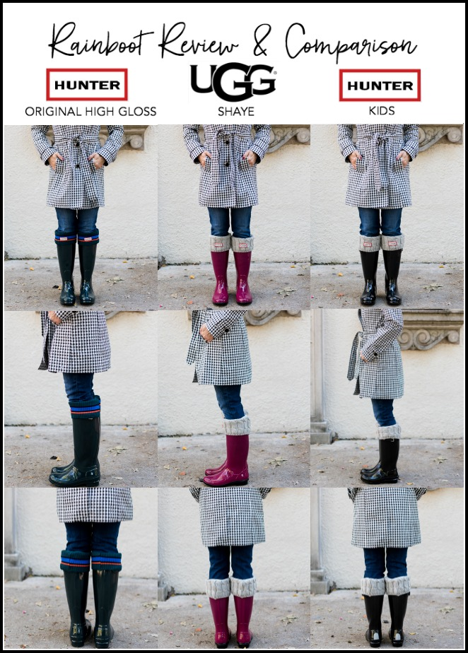 website for discount reasonably priced rational construction Hunter & Ugg Rain Boot Review | Honey We're Home
