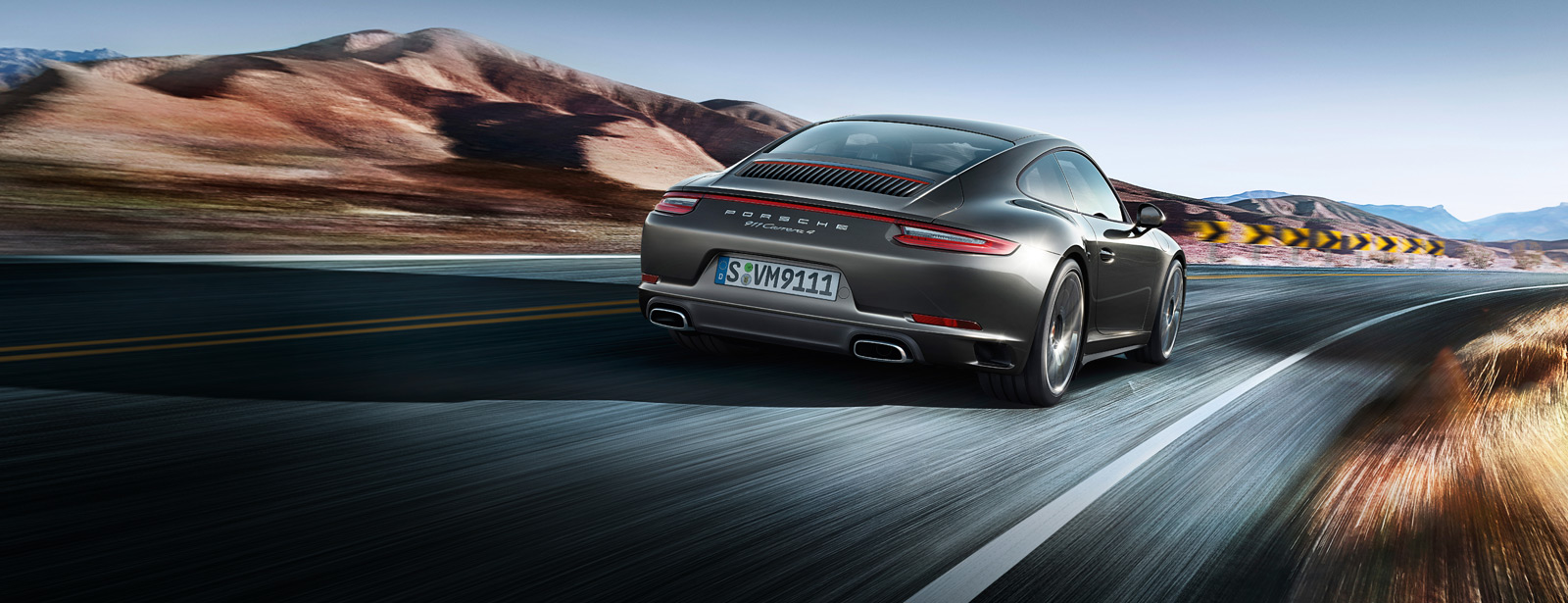 Porsche The new 911 Carrera 4