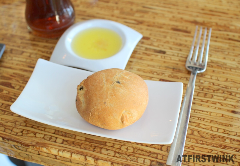 Restaurantweek Allure in Rotterdam olive bread olive oil