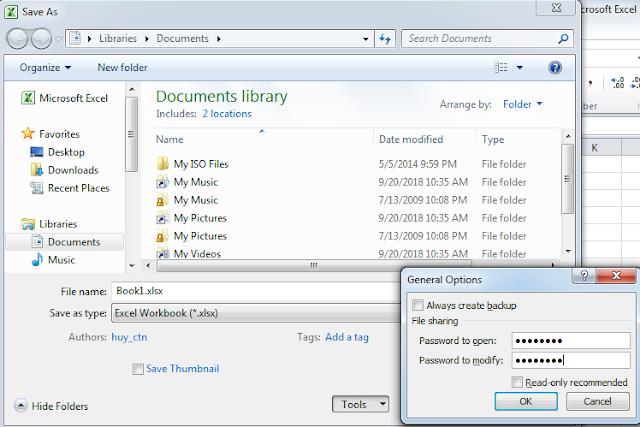 Hướng Dẫn Bảo Mật Dữ Liệu - Đặt Mật Khẩu Cho Thư Mục (Folder), Word, Excel, PDF - Top5Free