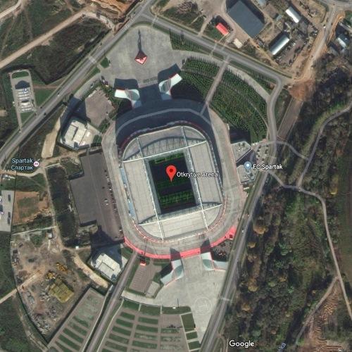Otkritie Arena, Moscow, Rusia | Piala Dunia FIFA 2018
