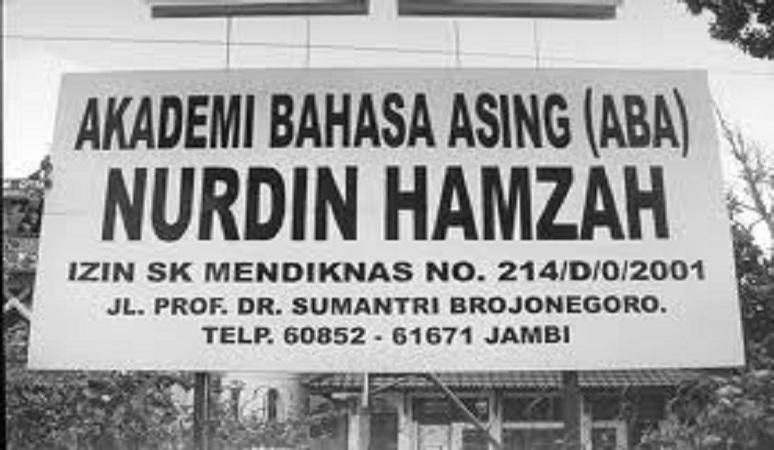 PENERIMAAN MAHASISWA BARU (ABA NURDIN HAMZAH) 2018-2019 AKADEMI BAHASA ASING NURDIN HAMZAH