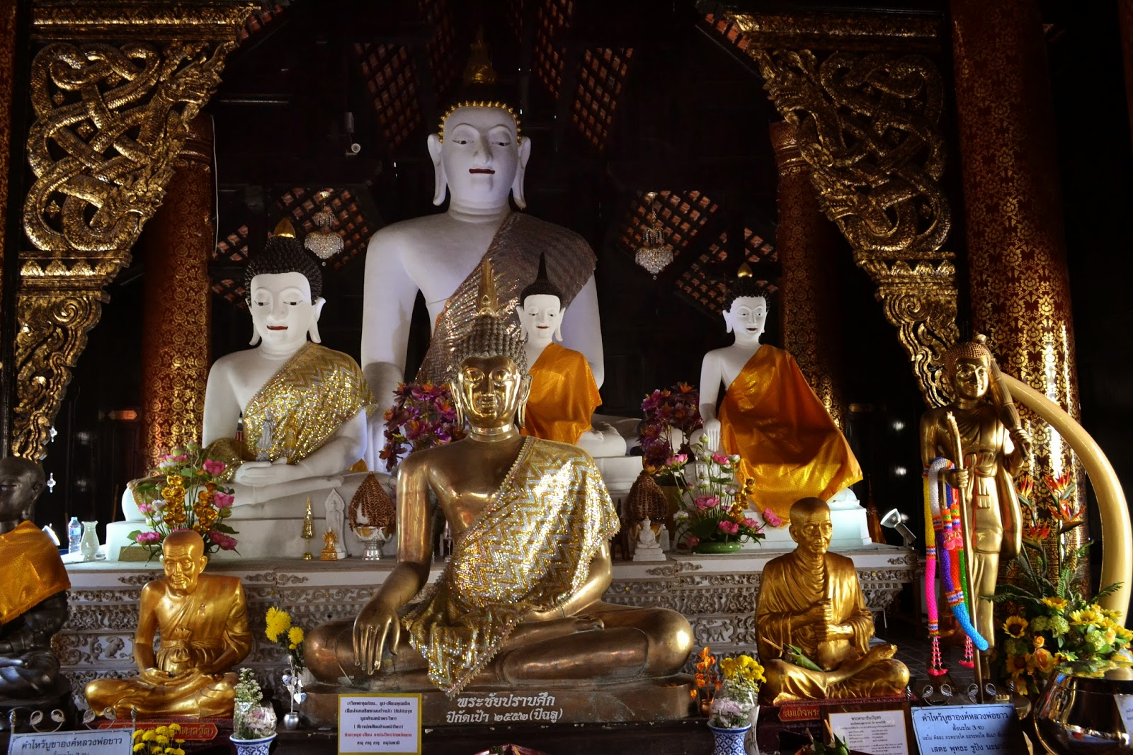 Chiang Mai, Thailande, voyage, temples