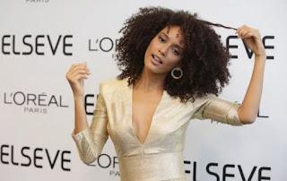 Taís Araújo participa de evento da L `Oréal Paris no Rio de Janeiro