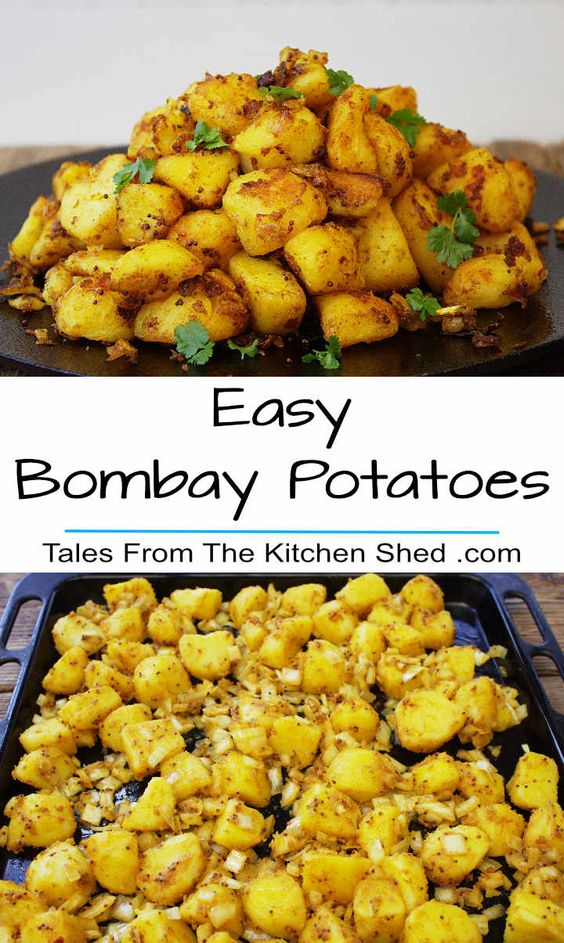 I thought it was about time to share my recipe for Easy Bombay Potatoes with you. I've been making Bombay Potatoes this way for years and although I've posted photos on social media I've never got around to sharing the recipe… so here goes.