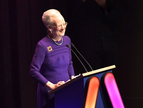 Queen Margrethe attends opening ceremony of Aarhus as European Capital of Culture 2017 in Aarhus