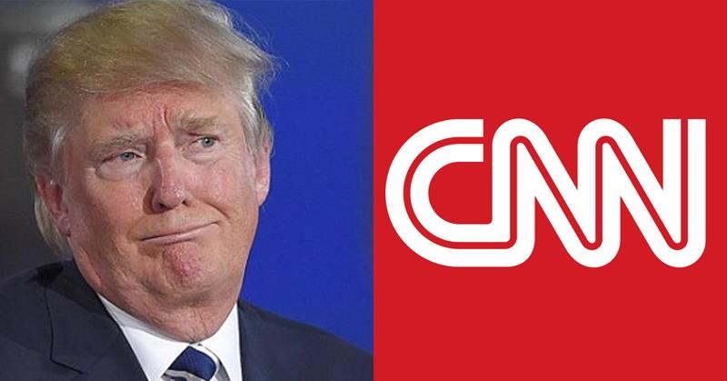 CNN Fires Back After Trump Says Network Represents America