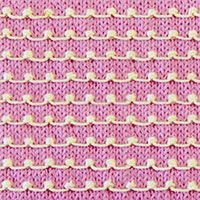 Textured Knitting 29: Tiny Bobble | Knitting Stitch Patterns.