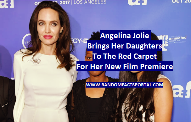 Angelina Jolie Brings Her Daughters To The Red Carpet For Her New Film Premiere