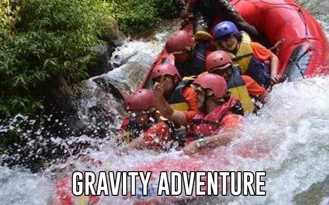 rafting di pangalengan gravity adventure bandung