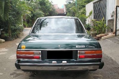 Eksterior Toyota Corona 2000 Restorasi