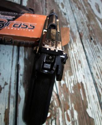 My fixed Beretta 92F with new rear sights