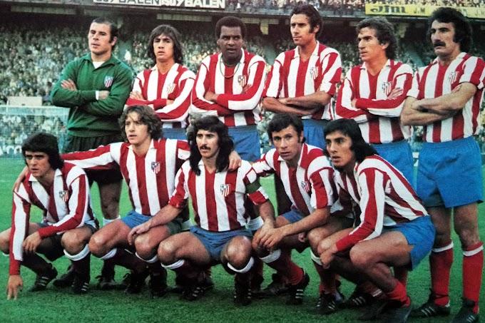 ATLETICO MADRID 1975-76. By Este.