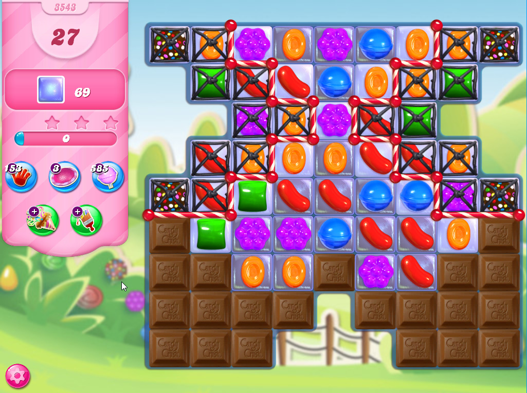 Candy Crush Saga level 3543