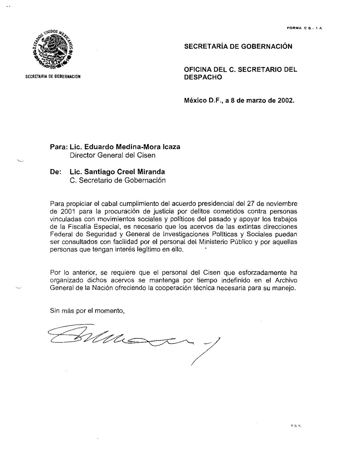 Conte biancamano 01 18 08 for Ministerio de gobernacion