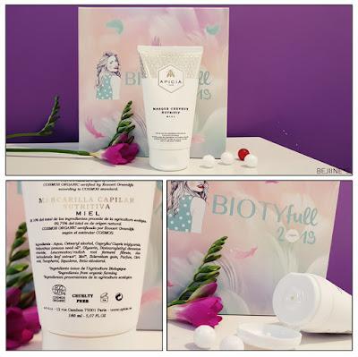 "BIOTYfull Box ""Enveloppante Cocooning"" apicia masque cheveux"