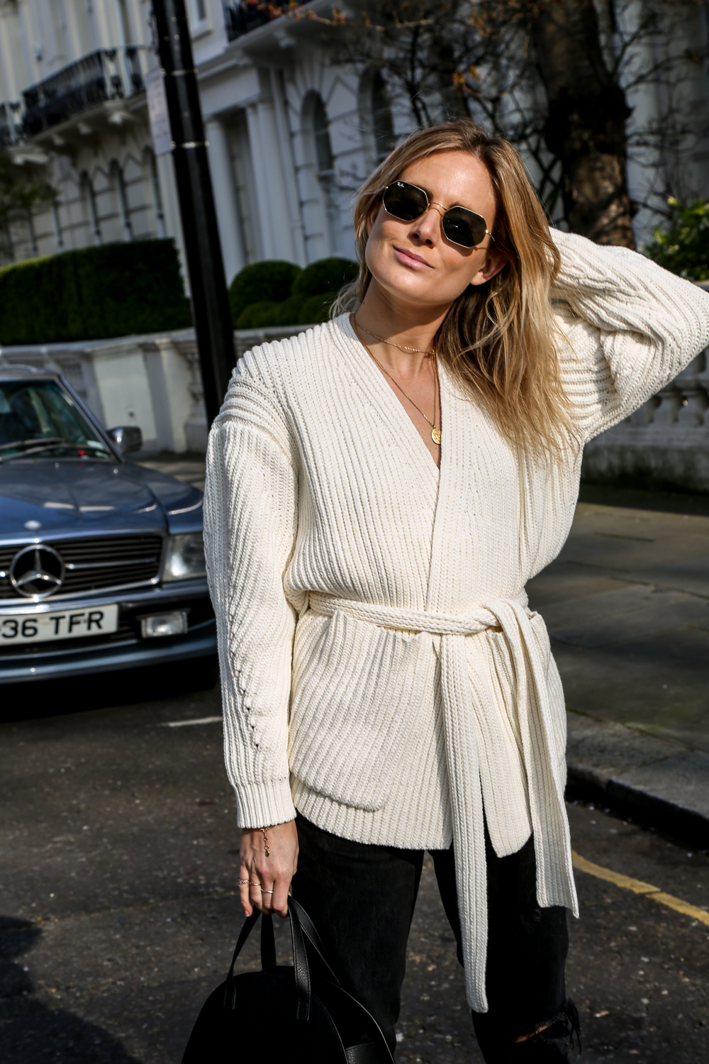 25 Belted Cardigans We Want to Live In — Lucy Williams Winter Outfit Idea