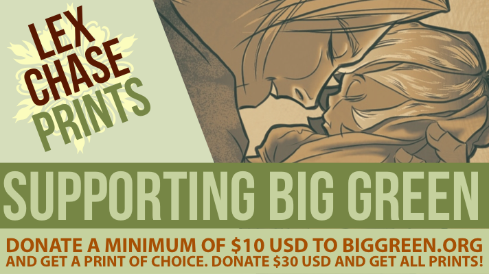 Diverse Reader: Guest Post: Lex Chase~ Supporting Big Green