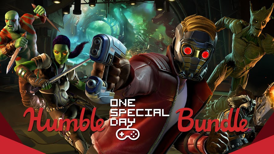 marvel's guardians of the galaxy the telltale series humble bundle