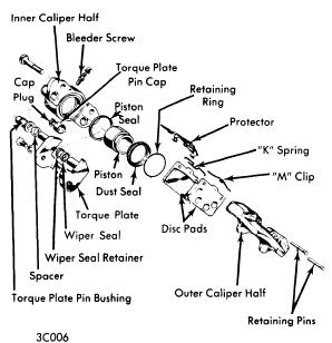 repair-manuals: Dodge Colt 1971-43 Brake Repair Guide