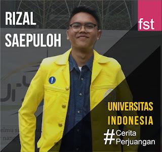 Rizal Saepulloh Ilmu Filsafat Universitas Indonesia