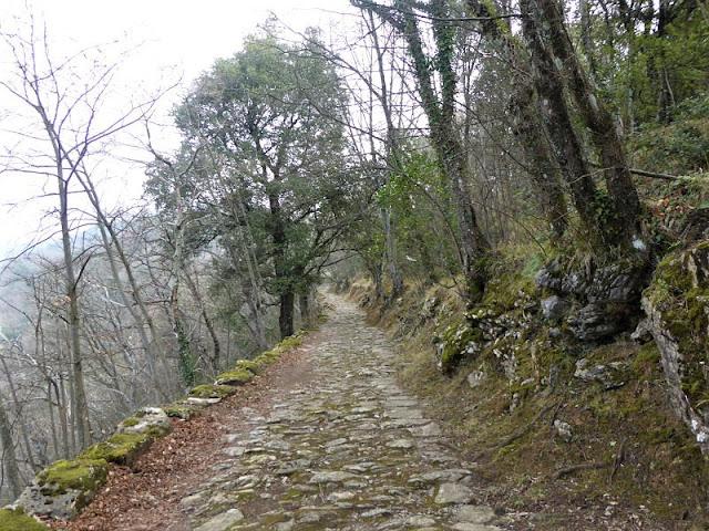 sentiero per montallegro