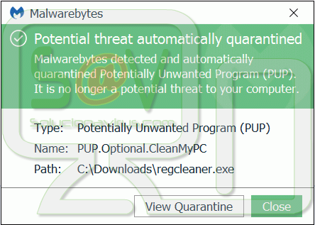 PUP.Optional.CleanMyPC
