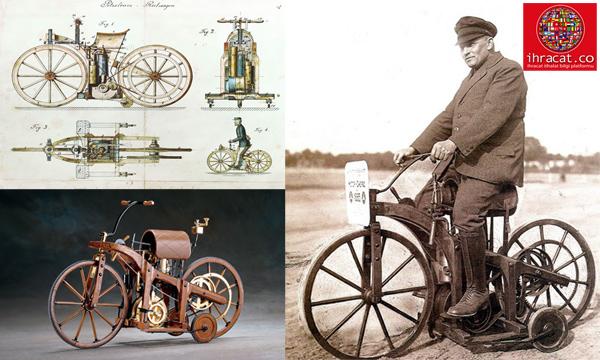 Dünyanın İlk Motosikleti, Daimler Reitwagen
