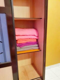 Warih-Homestay-Sri-Cempaka-Guest-Susun-Tuala-Towel