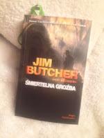 """Śmiertelna groźba"" Jim Butcher, fot. paratexterka ©"