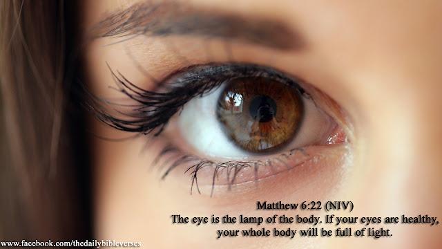 Daily Bible Verses: Matthew 6:22